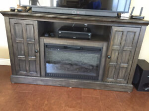 TV Entertainment Stand/Electric Fireplace