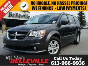 2016 Dodge Grand Caravan Crew Plus-Remote Start-Back UP Camera