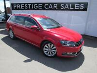 VOLKSWAGEN PASSAT 2.0 SPORT TDI BLUEMOTION TECHNOLOGY 5d 139 BHP (red) 2013