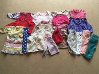 Baby girl's clothes bundle 3-6 months