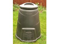 Blackwall 330 Litre Black Compost Bin Compost Converter Composter Composting Garden