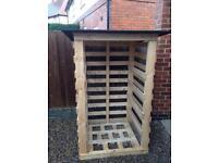 Wood/log store £30