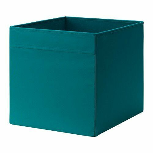 ikea 39 drona 39 canvas storage boxes x 4 fit into ikea. Black Bedroom Furniture Sets. Home Design Ideas