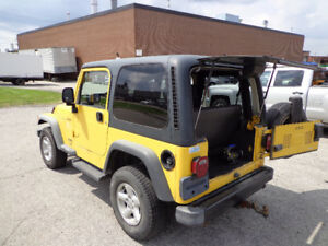 2003 Jeep TJ Convertible