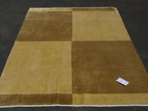 14713-Lori Gabbeh Hand-Knotted Indian Rug/Carpet Tribal