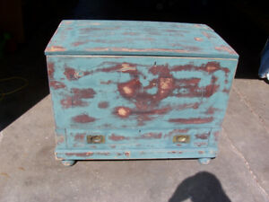 Large Antique Chest 38 by 23 and 30 Tall