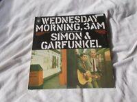 Vinyl LP Wednesday Morning, 3 AM - Simon & Garfunkel CBS 63370