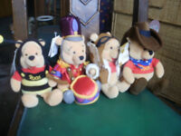 """assorted winnie the pooh £4 each 8"""" approx new with tags"""