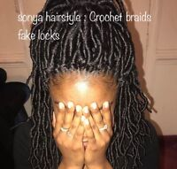 Coiffeuse africaine