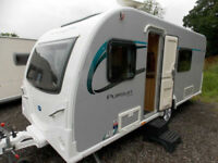 Bailey Pursuit 430/4 2015 Lightweight 4 Berth Touring Caravan With MotorMover