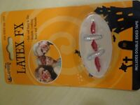 WOUND WITH PINS FOR FANCY DRESS - ADHESIVE - NEW IN PACKAGING