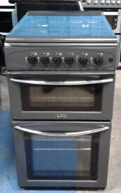 B699 Graphite Belling 50cm Gas Cooker, Comes With 6 Months Warrannty & Can Be Delivered Or Collected