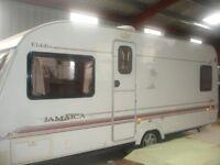 2004 Eldis Avante 4 berth touring caravan for sale.