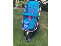 Cosatto giggle 2 happy campers pushchair and moova 2 happy campers car seat