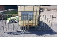 3 ft high x 7 ft wide set of gates