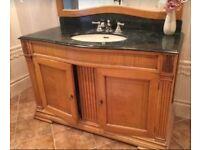 Marble Vanity bathroom sink unit - Sold -