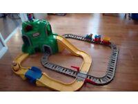 Little Tikes toddler Mountain Peak Road & Railway Train track Play Set