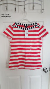 Tommy Hilfiger top size large tags attached