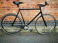 Single Speed Fixed Gear Fixie Road Bike + Receipt & I.D