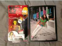 Weird Al book and collectable Simpsons figure