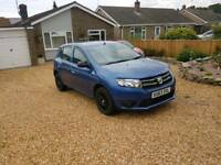 Dacia sandero cheap car same as Renault Clio like Corsa fiesta