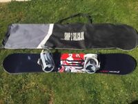 Crazy Creek Sonic 60 Snowboard & bindings