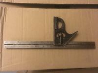 Vintage Rabone Combination Try & Mitre Square