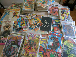 Large assorted Comic book collection