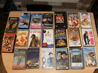 30 VHS Video's