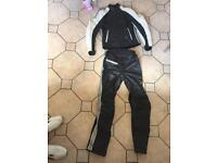 Hein gericke 2 piece ladies motorcycle leathers size 10