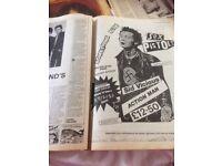 10 vintage Sounds pop magazines