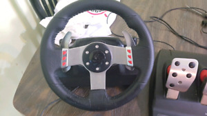 Logitech g27 racing wheel volant