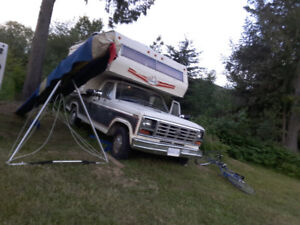 STEAL OF A DEAL! 1000 TRUCK AND CAMPER! FLIP FOR 1500! MUST SELL