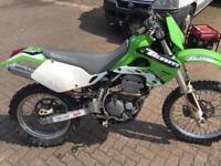 Kawasaki klx 300 enduro trail bike Mx trials crf drz xr wr crfx