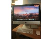 APPLE IMAC intel 3.06gz Samsung SSD + HD + MORE REFURBISH MAC