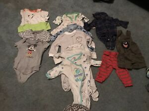 Baby boy clothing size nb 0-3 and 3months