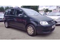 VW TOURAN 1.9 TDI S 6 SPEED 7 SEATER 2006 / CAMBELT DONE / FULL SERVICE HISTORY / HPI CLEAR