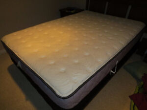 Double Bed and Box Spring Set