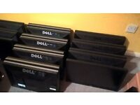 "JOBLOT 8x 22"" Dell monitors with tilt - slide Stands Mint condition 4 usbs DVI VGA Collection ports"