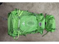 OSPREY ATMOS 65AG RUCKSACK - USED ONCE