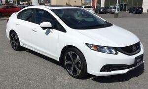 2014 Honda Civic Si, Bluetooth, HondaLink, Fog Lights, Sunroof