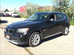 2012 BMW X1 xDrive28i**LEATHER**SUNROOF**NAVIGATION**AWD**