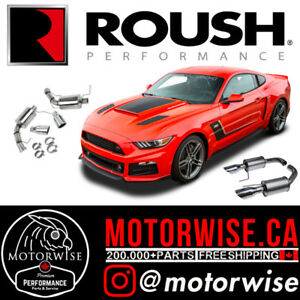 Roush Performance Exhaust Systems, Cold Air Intakes & More Parts
