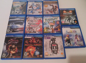 Buying all your ps vita games for 10.00$