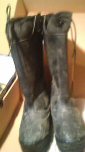 Construction or miner winterized boots
