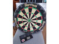 Darts board and set