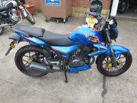 Keeway RKS Sport 124.5cc 125 Naked. Learner legal