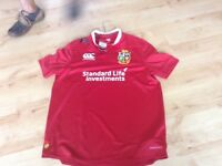 British and Irish Lions rugby shirt