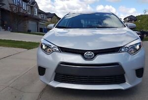 2015 Toyota Corolla LE Sedan with only 44k