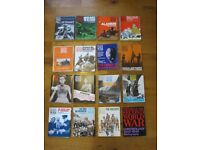 War Magazines. Complete set of History of the Second World War by PURNELL in 1967 for 3s and 6d.